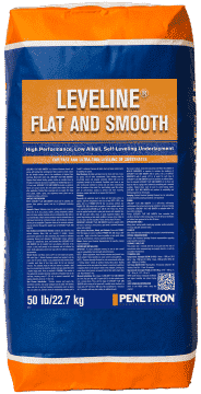 Penetron SP Leveline Flat and Smooth Thin Pour Self Leveling Underlayment Material