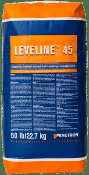 Leveline 45 high performance self level underlayment bag mix material