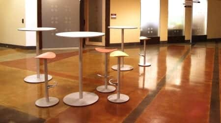 Concrete Coloring and Stained Concrete Products. Concrete stain material with many concrete stain color choices. Water base concrete stain as well as acetone dye for concrete floors that are UV resistant. Acid stain materials and acid stain products for acid stained concrete floors.
