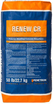 Penetron Renew CR Concrete Resurfacing Material System